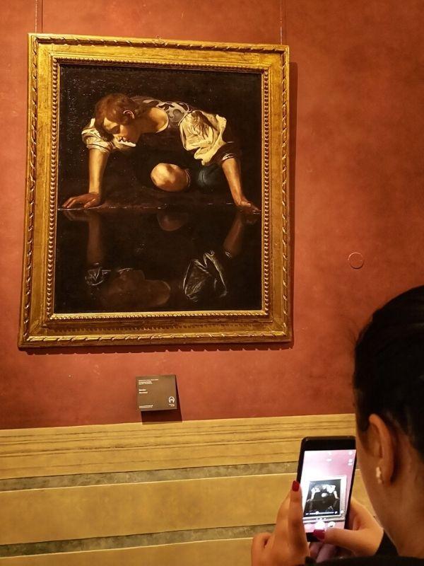 Caravaggio, Narcissus, Palazzo Barberini, Rome