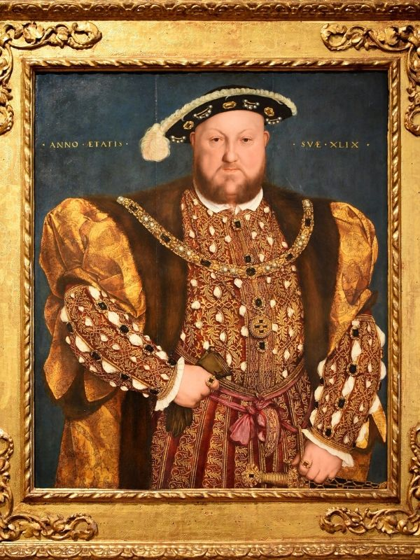Hans Holbein the Younger, Portrait of Henry VIII, Palazzo Barberini, Rome