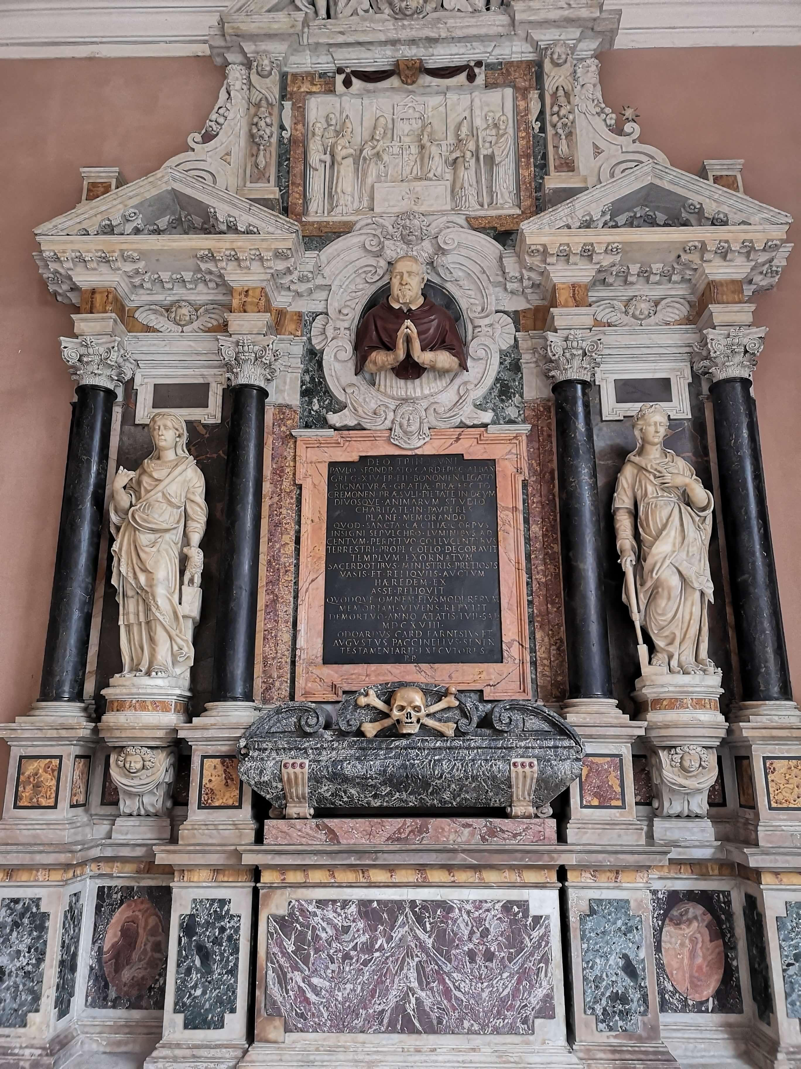 The Tomb of Paolo Sfondrato